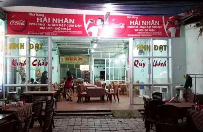 Nhà hàng nơi bán con gà giá 600.000 đồng khiến du khách bức xúc