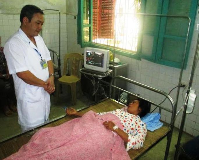 Mẹ con chị Hà Thị Luyến đang đã qua cơn nguy kịch sau khi ăn nấm lạ