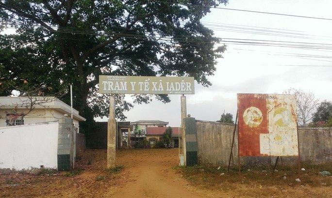 Trạm Y tế xã Ia Grai, huyện Ia Grai, tỉnh Gia Lai sử dụng trụ sở UBND xã Ia Dêr nên không phù hợp với ngành y    Ảnh: HOÀNG THANH