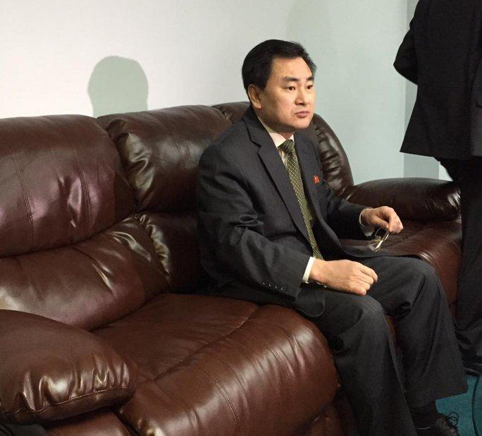 An Myong Hun, Phó đại diện thường trực của Triều Tiên tại LHQ. Ảnh: AP