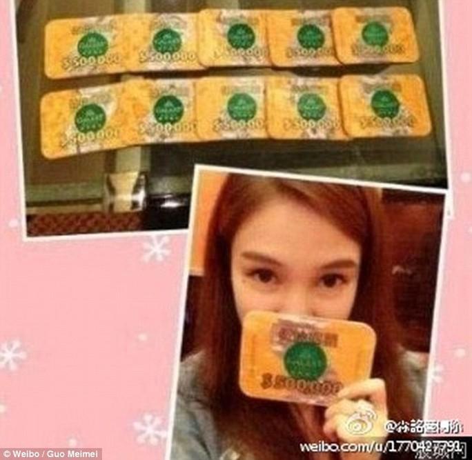 """Nữ hoàng của các fuerdai"" Guo Meimei. Ảnh: Weibo"