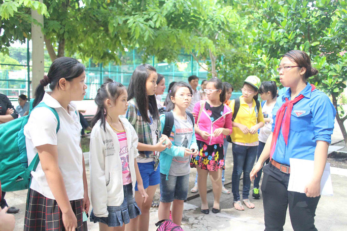 Con CNVC-LĐ hào hứng tham gia Trại hè  Thanh Đa năm 2014