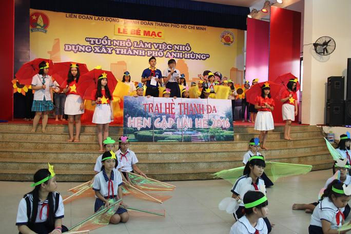 Con CNVC-LĐ TP hào hứng tham dự Trại hè Thanh Đa
