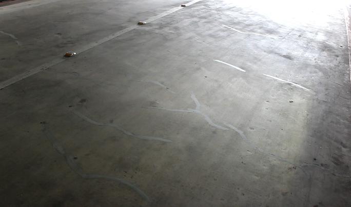 Xuất hiện nhiều vết nứt dưới hầm chui cầu Điện Biên Phủ