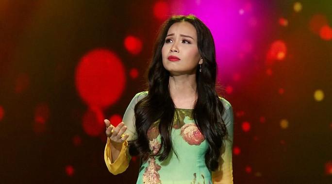 """Ca sĩ Cẩm Ly trong chương trình """"Tình Bolero"""" Ảnh: KHÁNH VY"""