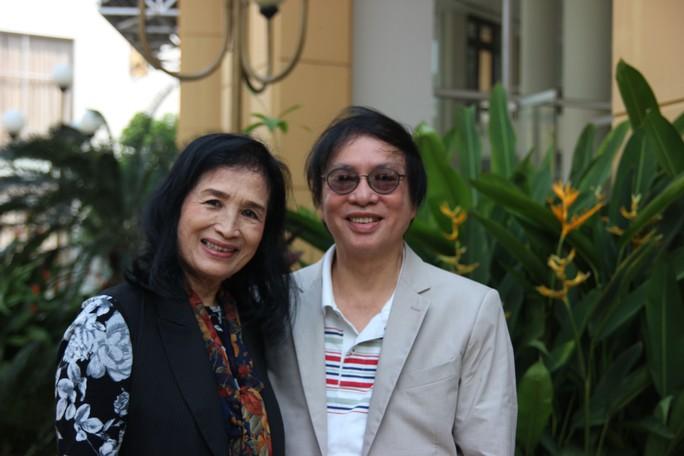 NSND Trà Giang và đạo diễn Đặng Nhật Minh