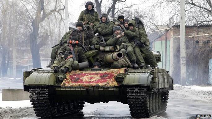 Phiến quân thân Nga ở Donetsk