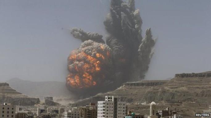 Các vụ không kích vẫn tiếp tục diễn ra tại Yemen. Ảnh: Reuters
