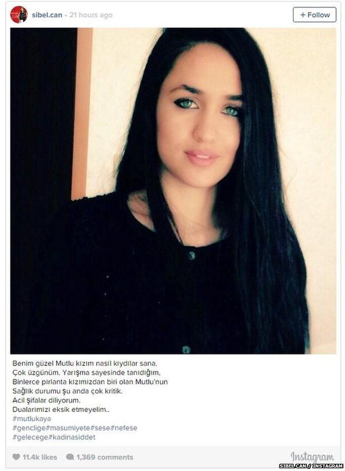 Sibel Can, một trong những ca sĩ dân ca nổi tiếng nhất của Thổ Nhĩ Kỳ