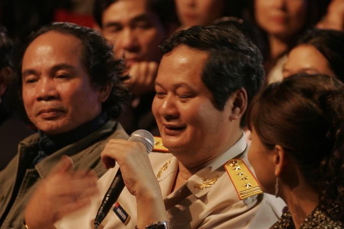 Nhạc sĩ An Thuyên và nhạc sĩ Nguyễn Trọng Tạo Ảnh: Nguyễn Đình Toán