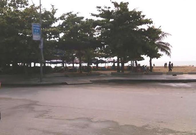 Đoạn đường nơi xảy ra vụ tai nạn
