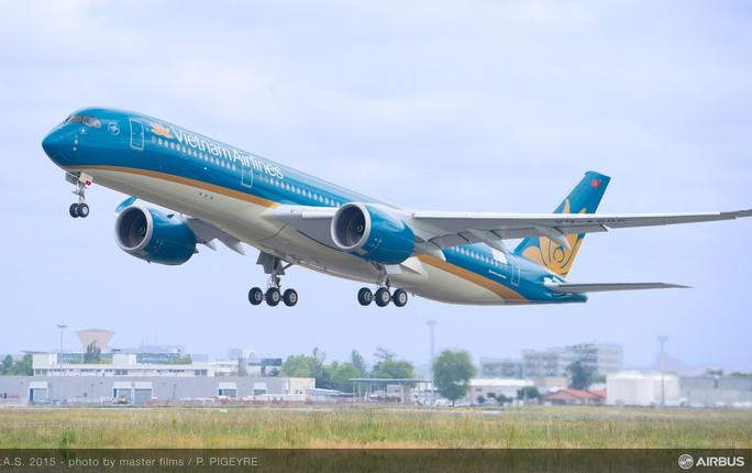 Chiếc A350 đầu tiên của Vietnam Airlines đã hoàn thành cuộc bay thử kéo dài 4 tiếng tại Pháp