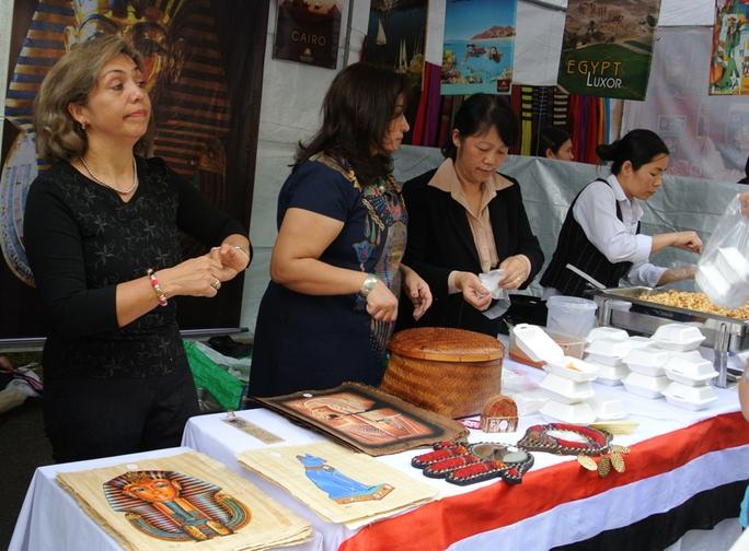 Những vật phẩm đặc trưng đến từ sứ quán Ai Cập