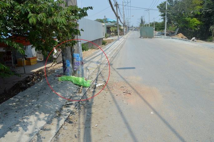 Trụ điện nơi xảy ra vụ tai nạn nghiêm trọng làm ba người chết