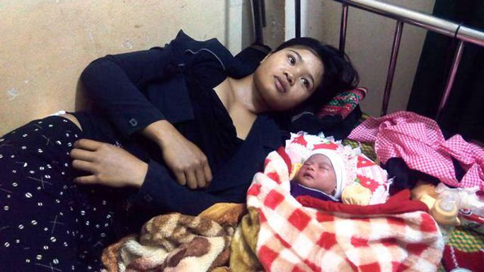 Sức khỏe chị Hyo và bé đã bình thường.