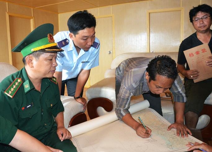 Thời gian qua, lực lượng biên phòng Quảng Ngãi đã xử lý nhiều vụ việc vi phạm pháp luật trên biển