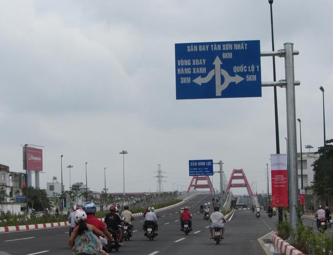 Đường Phạm Văn Đồng được xem là tuyến đường nội đô hiện đại và đẹp nhất tại TP HCM