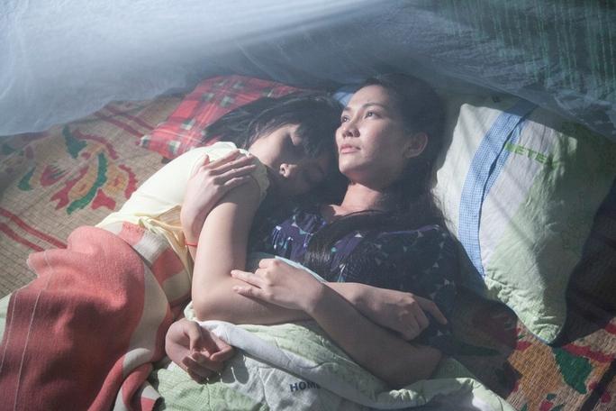 Kim Hiền vào vai Ba Nguyệt – mẹ của Út My.