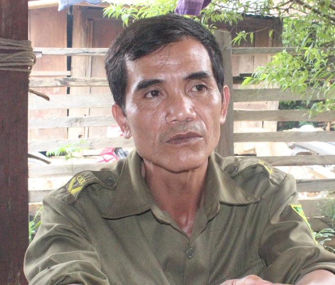 Ông Viêng Văn Ngọ, trưởng Công an xã Tam Hợp cho rằng hàng ngày Hai khá hiền lành.