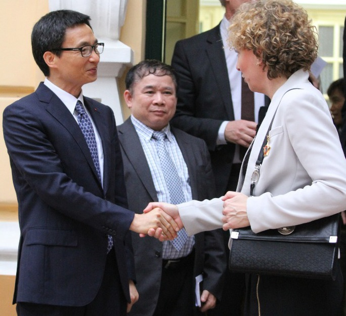 Bộ trưởng tiếp kiến Phó Thủ tướng Vũ Đức Đam