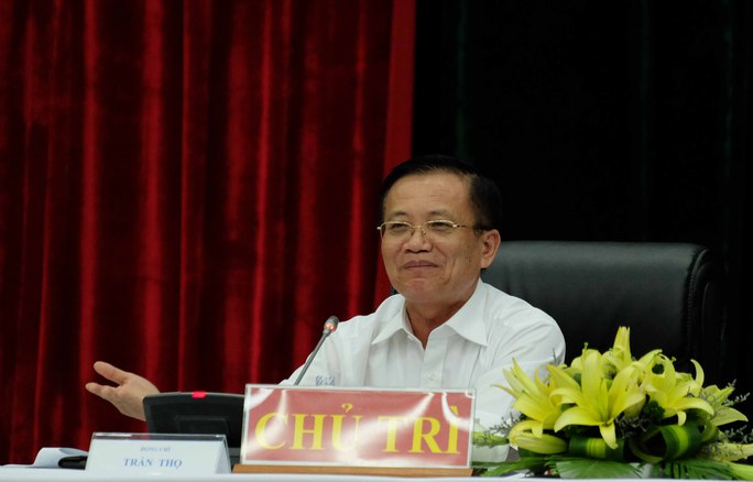 Ông Trần Thọ đã công khai email cá nhân tại buổi đối thoại với thanh niên Đà Nẵng