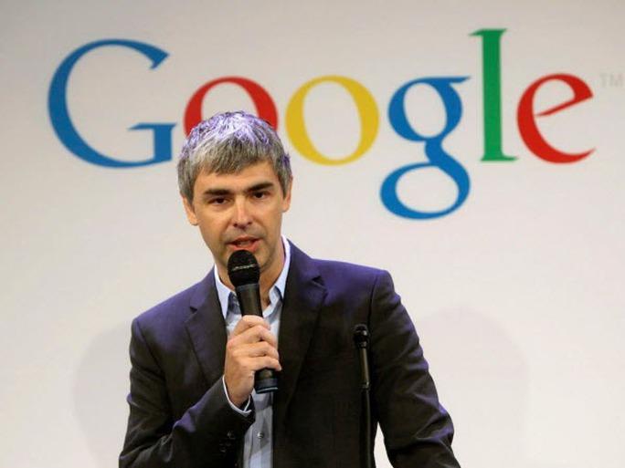 Ông Larry Page đã ra một thông báo gây bất ngờ cho cộng đồng công nghệ. Ảnh: AP