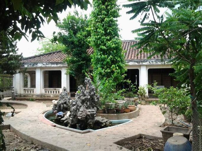 Di tích nhà cổ Trần Ngọc Du