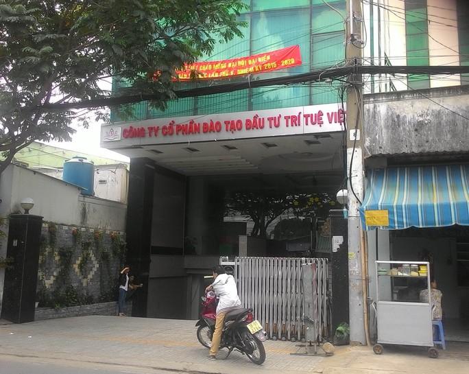 Nhà số 84 đường 11, phường Linh Xuân, quận Thủ Đức, TP HCM trước đây treo biển Công ty  Trí Tuệ Việt, nay được thay bằng Viện Quản trị kinh tế Việt Nam
