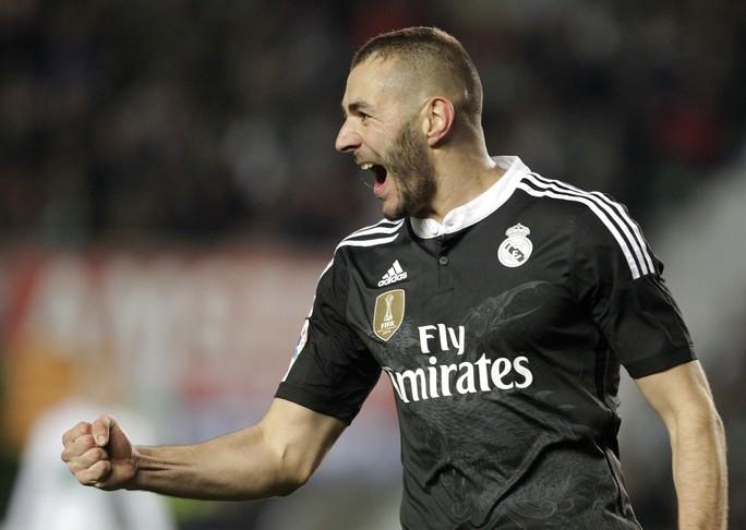 Benzema được các CĐV tín nhiệm nhất dù ghi ít bàn hơn Ronaldo