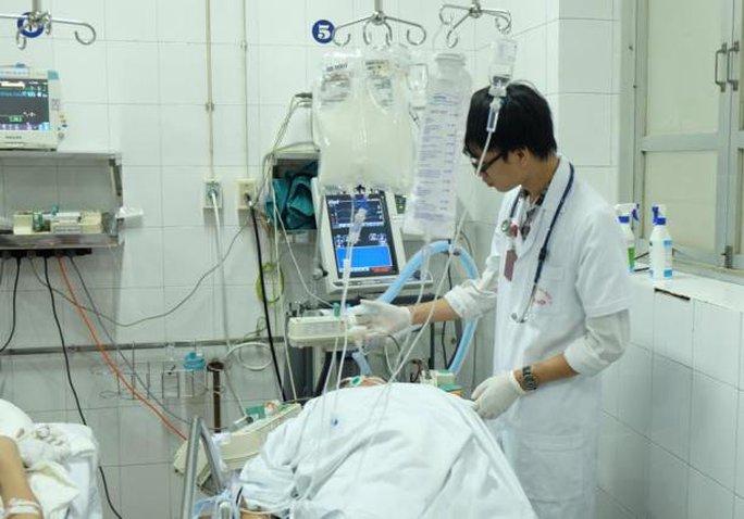 Bệnh nhân D. đang được điều trị tại BV Việt Đức