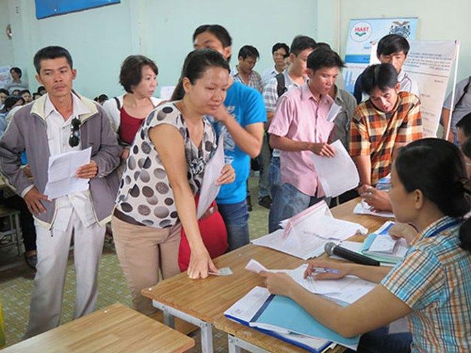 Mức hỗ trợ học nghề cho người thất nghiệp còn thấp - Ảnh 1.