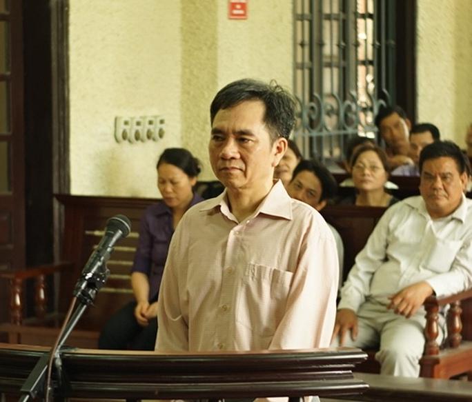 Bị cáo Vũ Quốc Huy tại tòa