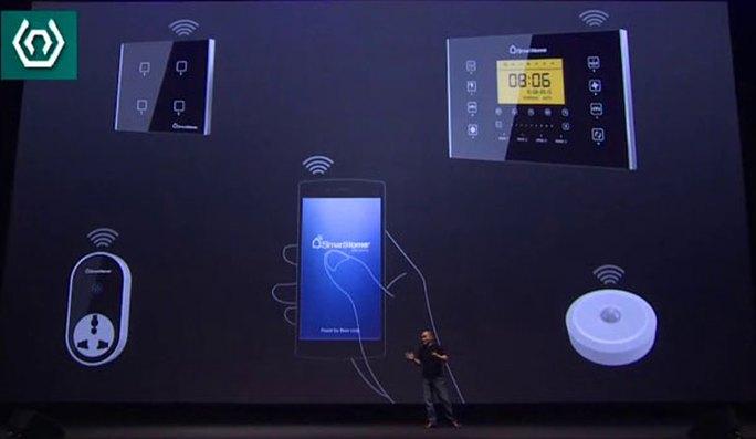 Bphone kết nối và điều khiển các thiêt bị trong nhà thông minh.