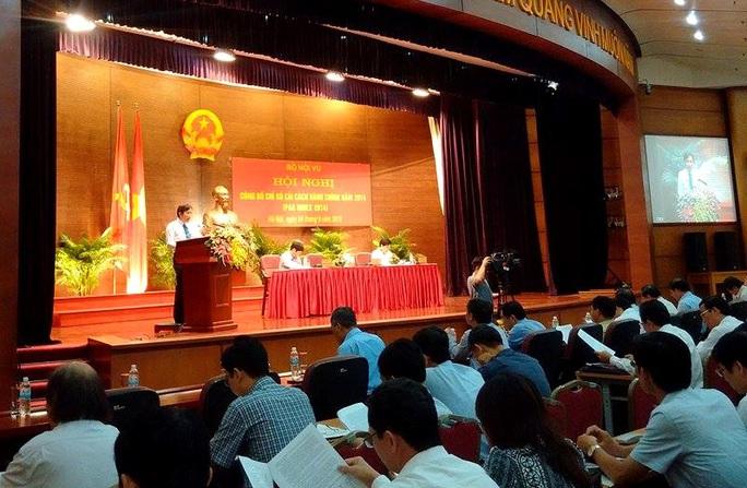 Thứ trưởng Bộ Nội vụ Trần Anh Tuấn công bố kết quả chỉ số cải cách hành chính