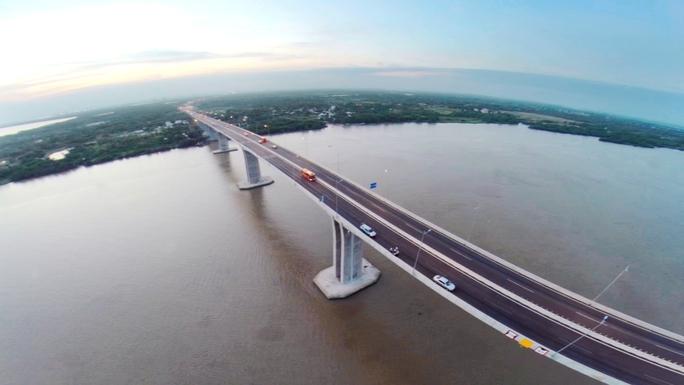 Đường cao tốc tuyến Long Thành-TP HCM-Dầu Giây đã được thông xe vào sáng 8-2