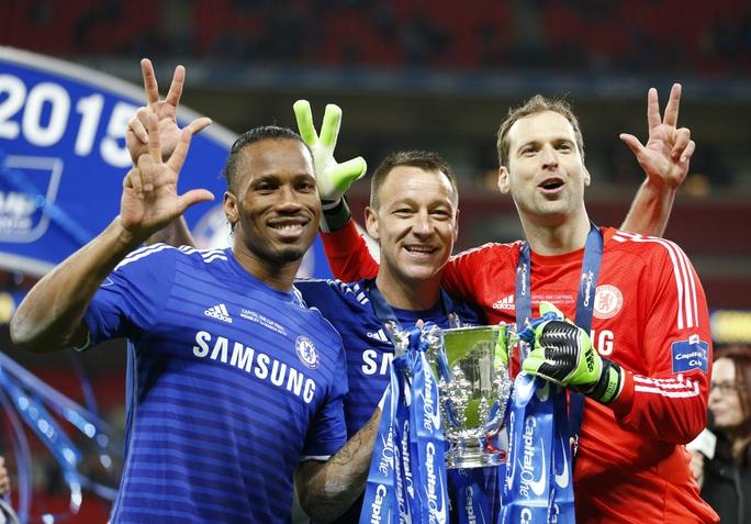Những cựu binh từng giúp Chelsea đoạt rất nhiều danh hiệu