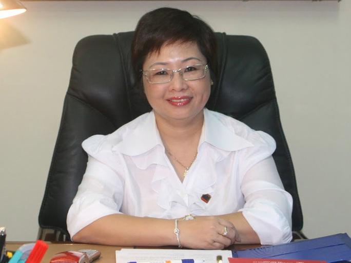 Bà Châu Thị Thu Nga khi còn là Chủ tịch HĐQT kiêm Tổng giám đốc Công ty CP Tập đoàn Đầu tư Xây dựng Nhà đất