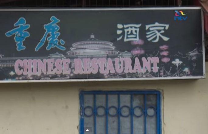 Nhà hàng Trung Quốc tại Kenya không tiếp người châu Phi sau 17 giờ. Ảnh: Metro