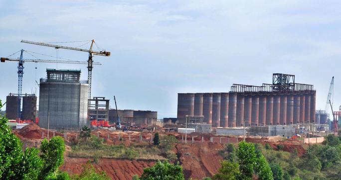 Một góc Nhà máy Alumin Nhân Cơ ở Đắk NôngẢnh: Cao Nguyên