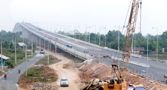 Đường cao tốc TP HCM - Long Thành - Dầu Giây với tiêu chuẩn hiện đại nhất Việt Nam hiện nay sẽ thông xe sáng 8-2