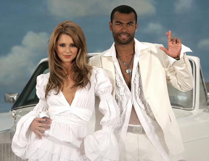 Cole và vợ Cheryl trước khi ly dị