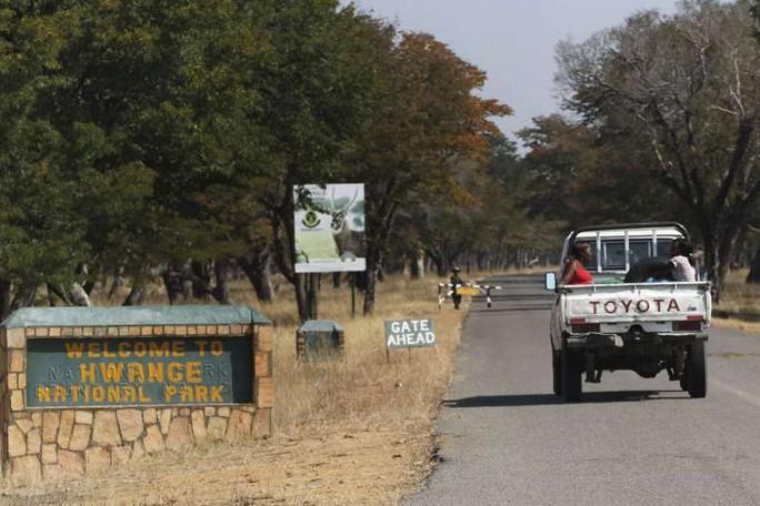 Công viên Quốc gia Hwange. Ảnh: Reuters
