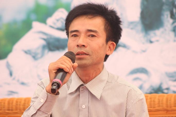 Cựu binh Lê Hữu Thảo, xúc động khi nhắc lại sự kiện Gạc Ma