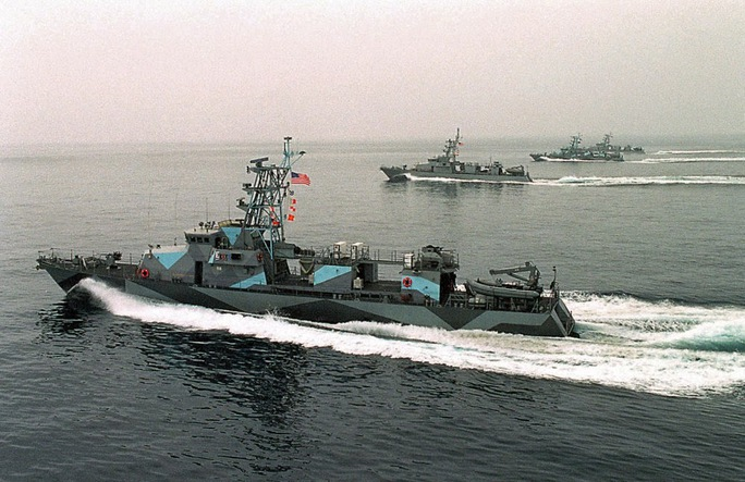 Tàu lớp Cyclone (Lốc xoáy) của Hải quân Mỹ. Ảnh: Reuters