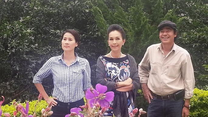Thân Thúy Hà, Diễm My và NSND Đào Bá Sơn