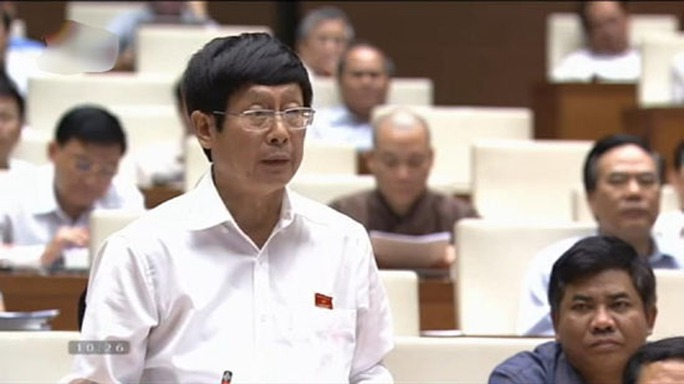ĐB Đỗ Mạnh Hùng: Có những cơ quan quản lý chủ trì thuộc Bộ KH-CN đã gợi ý, thậm chí tự đưa ra quy định các nhà khoa học phải trích nộp 25-30%