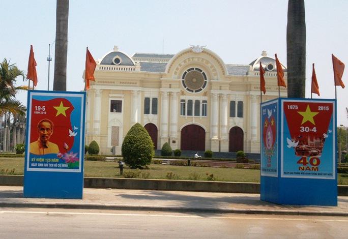 Hình ảnh mới đã được thay thế ở Quảng trường Lam Sơn - Thanh Hóa