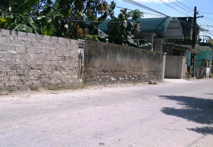 Hiện trường nơi xảy ra vụ truy sát khiến 2 anh em Thái và Tâm bị bắn