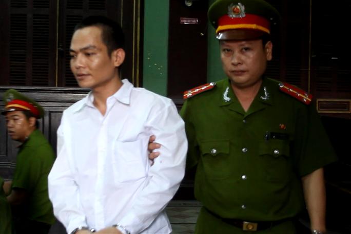 Bị cáo Đặng Hùng Phương tại tòa