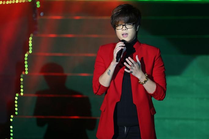 Ca sĩ trẻ Bùi Anh Tuấn